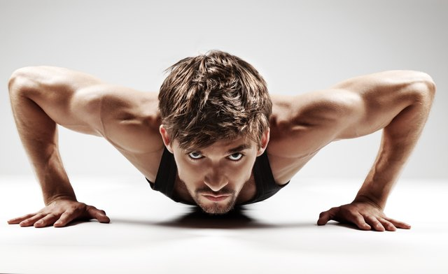 Push ups work all major chest muscles.