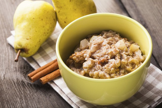 oatmeal is a nutrient-dense high-carb food