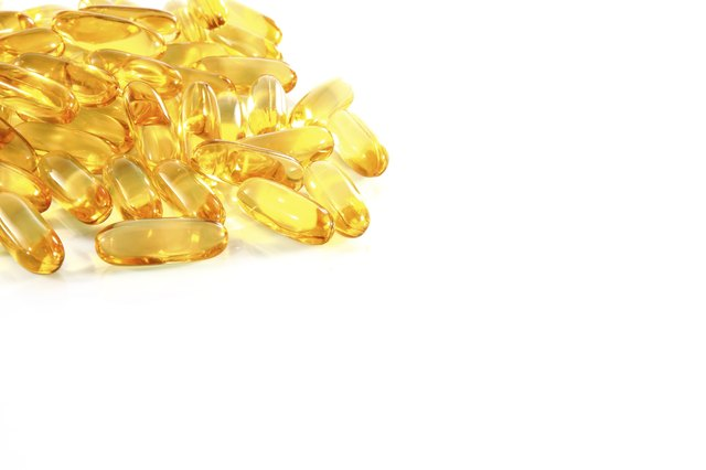 Fish oil supplements.