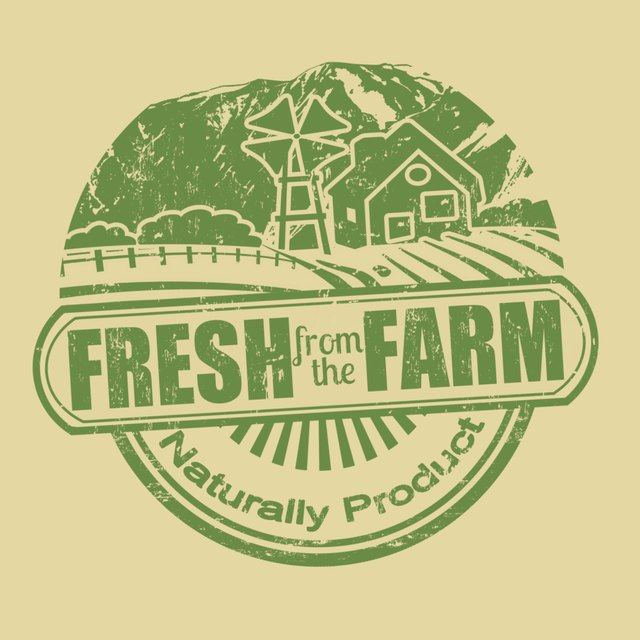 A fresh product label