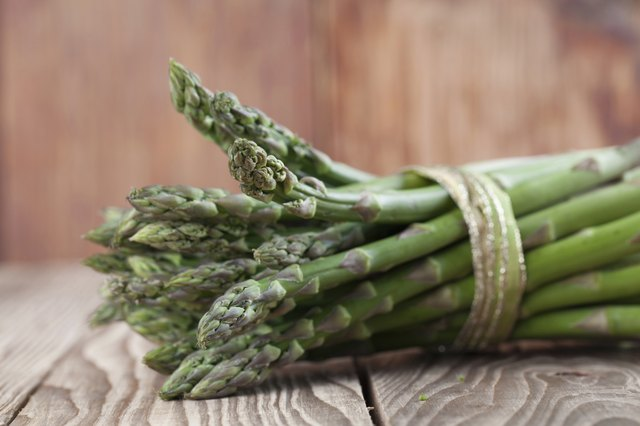 make alkalizing foods like asparagus part of your diet