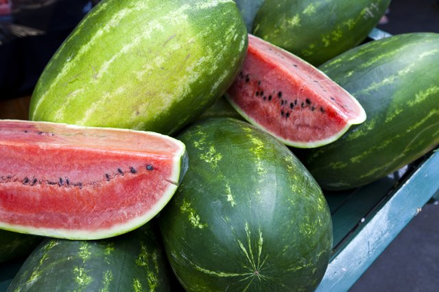 Watermelon is high in citrulline.