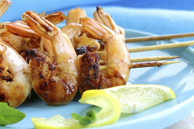 Try grilled shrimp or vegetables for dinner.