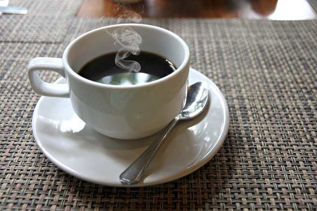 it's best to avoid foods high in caffeine like coffee