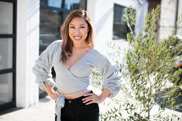 "Competing in a bikini competition pushed Blogilates Creator Cassey Ho to reassess her idea of the ""perfect"" body."