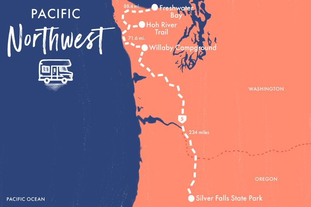 Inhale the crisp, fresh air during your fitness adventure through the Pacific Northwest.