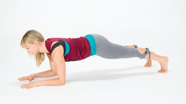 This variation is the baseline for planks.