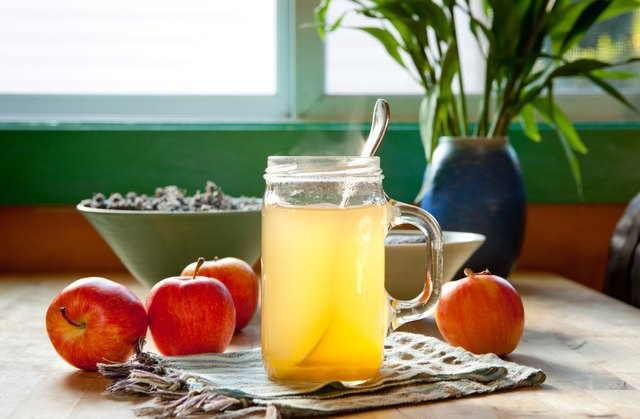 Drinking apple cider vinegar straight can wear down the enamel on your teeth.