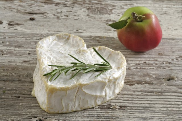 This cheese may have a strange name, but it contains fewer calories and fat than cream cheese.
