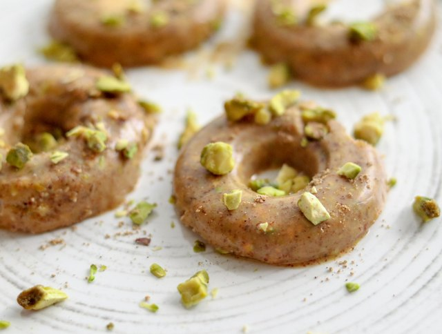 Lemon-almond chai fat bombs are satisfyingly crunchy, thanks to the chopped pistachios.