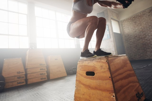 Plyometric workouts are easy to do at home.
