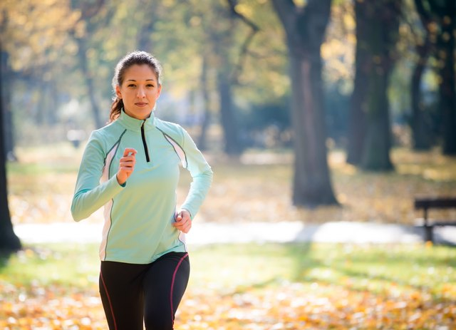 Layer up on your outdoor fall runs.
