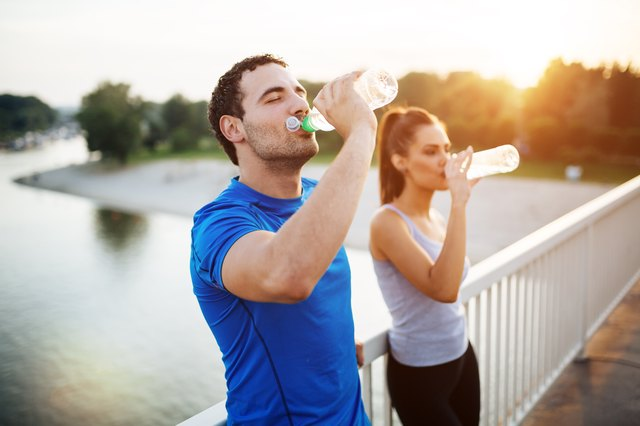 Hydrating properly can help you avoid muscle cramps.