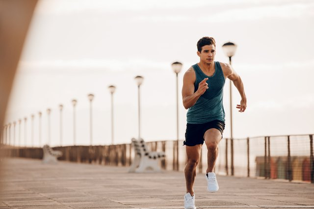 Speed endurance workouts are usually done with short distance sprints.