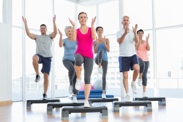 You can find step aerobics routines for free on multiple platforms.