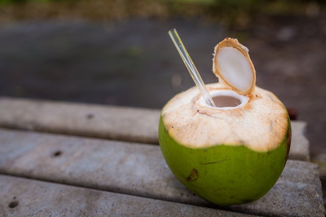 Coconut water can help you recover from your workout.