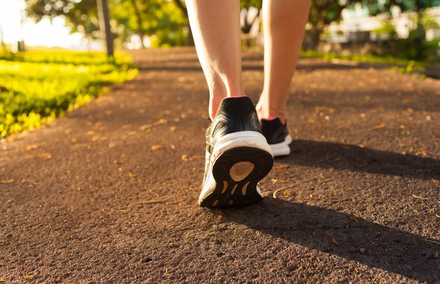 Make a daily walk part of your routine to keep your legs mobile.