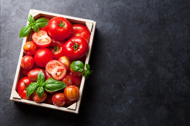 Tomatoes are you skin's best friend.