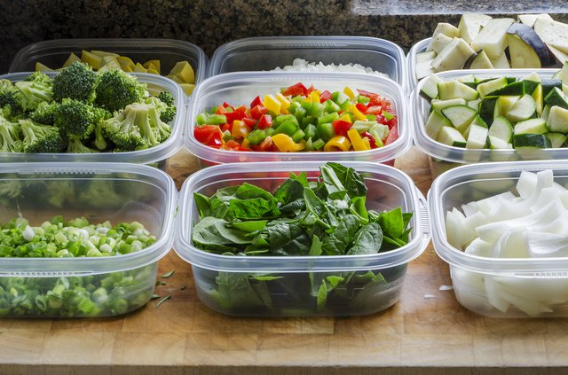 Chop all your veggies at the beginning of the week so they're ready to go.