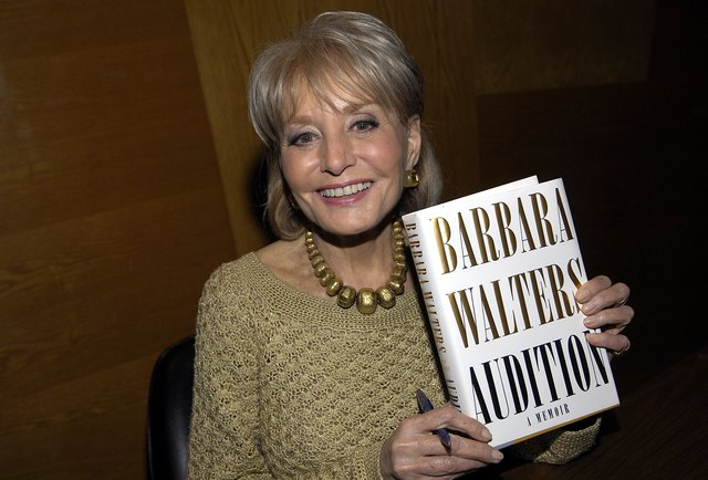 Journalist and TV personality Barbara Walters gave Shriver a piece of excellent advice.