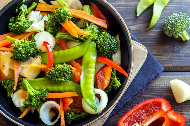 Healthy, veggie-rich meals will help you see results from your Zumba workouts.