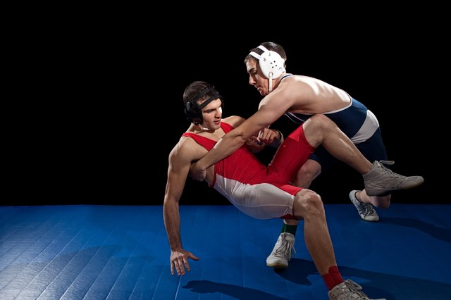 Wrestling is an intensely physical sport.