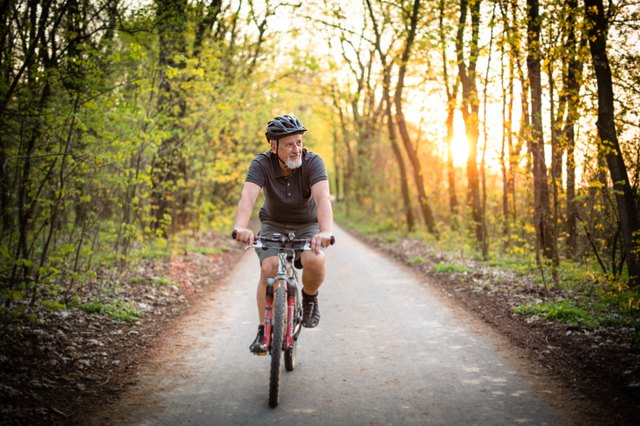 Hop on a bike and enjoy the trails.