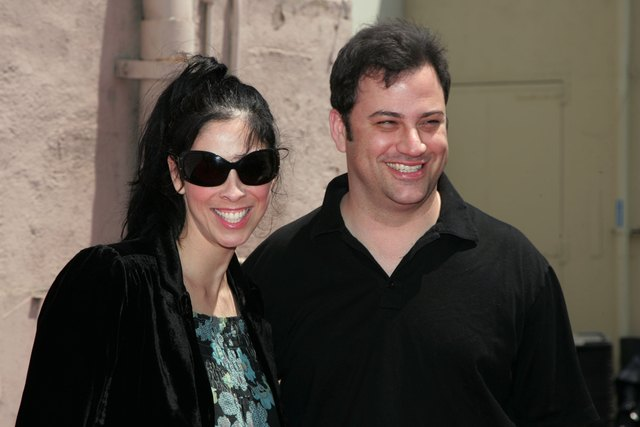 In 2010, Kimmel weighed 208 pounds. He also dated Sarah Silverman, apparently.