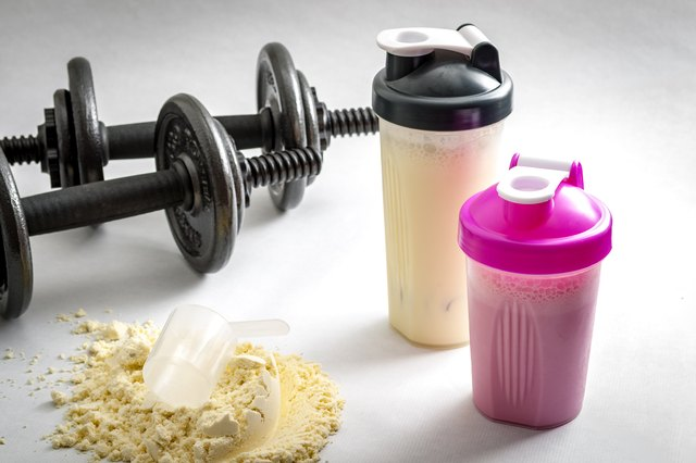 Whey protein after your workout helps strengthen ligaments.