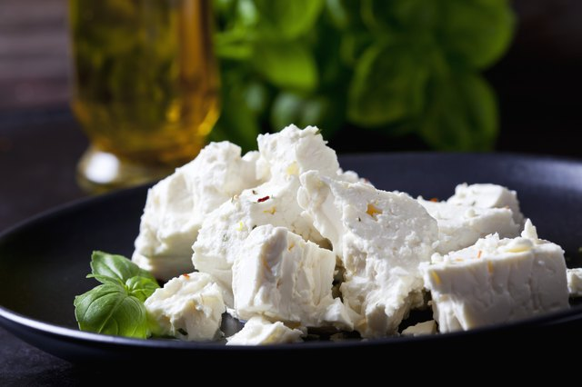 Good news: Feta is lower in lactose and fat than many other cheeses.