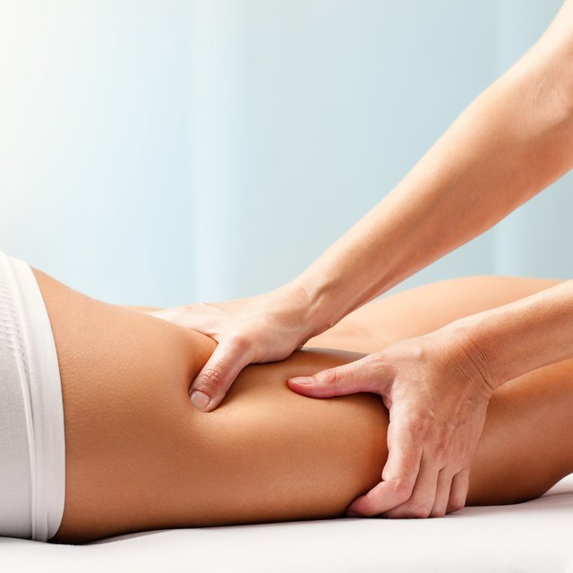 Massage therapy promotes bloodflow to reduce soreness in overworked muscles.
