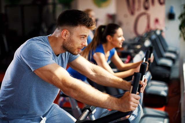 For a higher cardio burn, jump on a bike or treadmill.