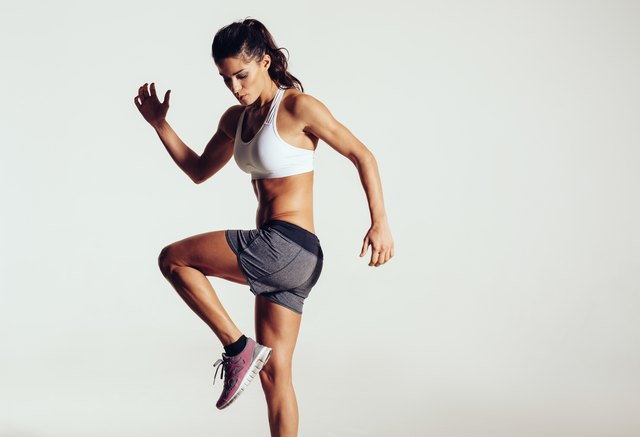 There are a lot of high-impact and athletic exercises in the P90X Plyometrics workout.