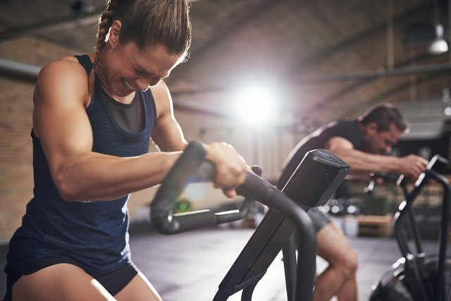 For a vigorous work, ramp up your intensity.