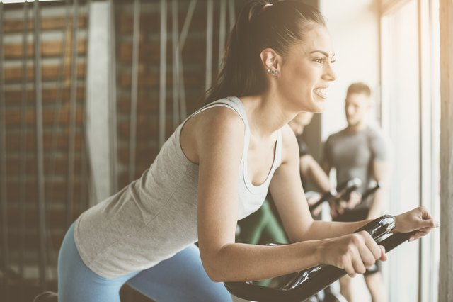 Never taken a spinning class? Try it now!
