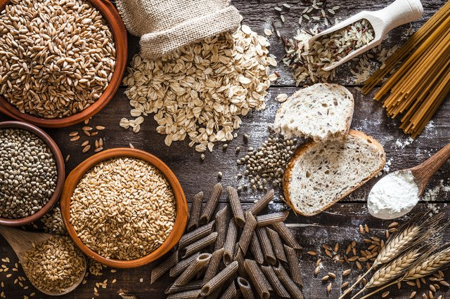 Many whole grain breads, cereals, rice and pastas are enriched with additional B vitamins.