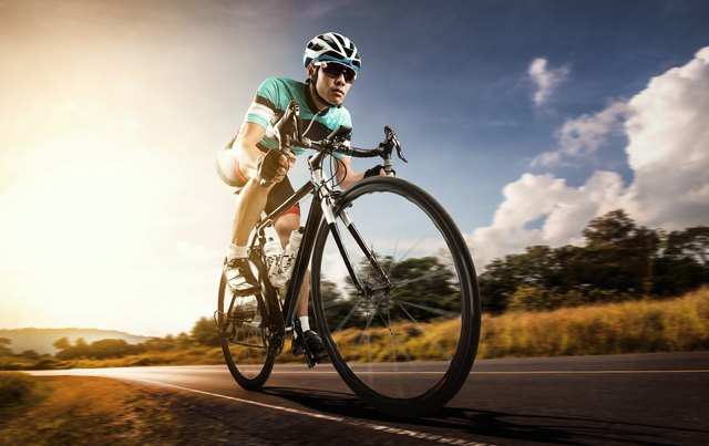 Cycling is another intense aerobic activity.