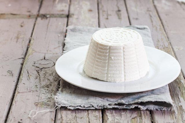 Ricotta cheese is a versatile, low-sodium cheese.