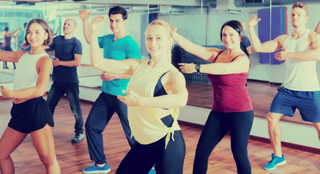 Dance class gets your heart working and adds fun to your session.