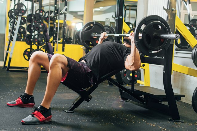 Save your bench presses for when you're off the Smith machine.