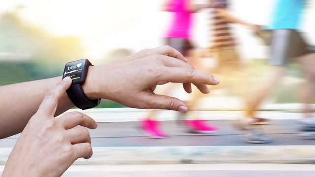 A number of gadgets can check your heart rate.
