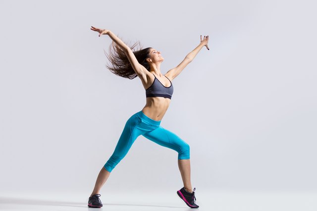 Doing your Zumba workout at home gives you the freedom to do any moves you want.
