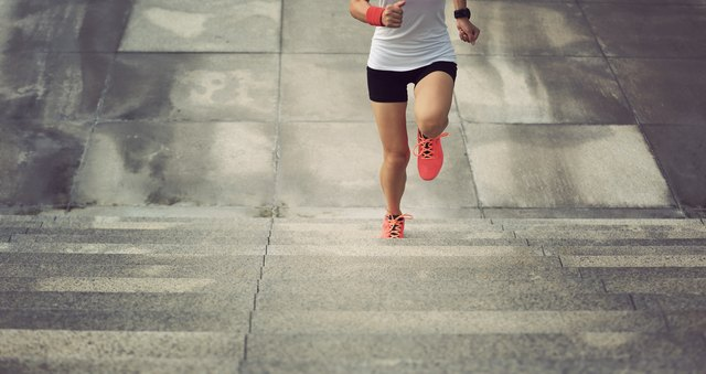Stair sprints are just as good as running on a treadmill.
