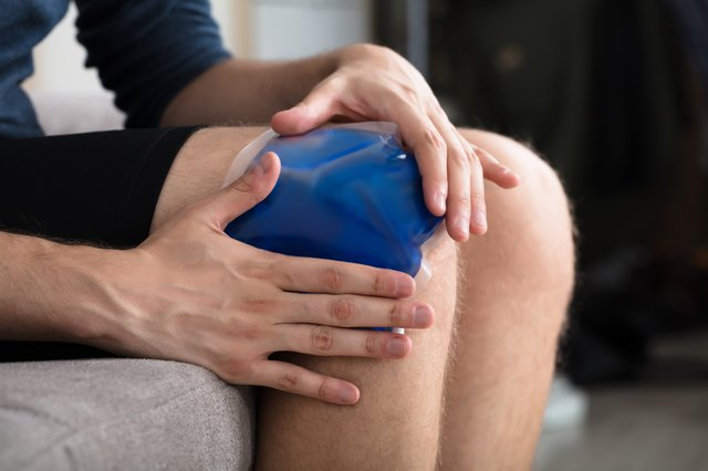 Most injuries will require an ice pack immediately after the trauma occurrs.
