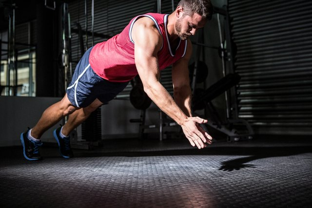 Clap push-ups help you develop speed in your punching muscles.