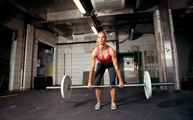 Deadlifts build your hip and glute muscles.
