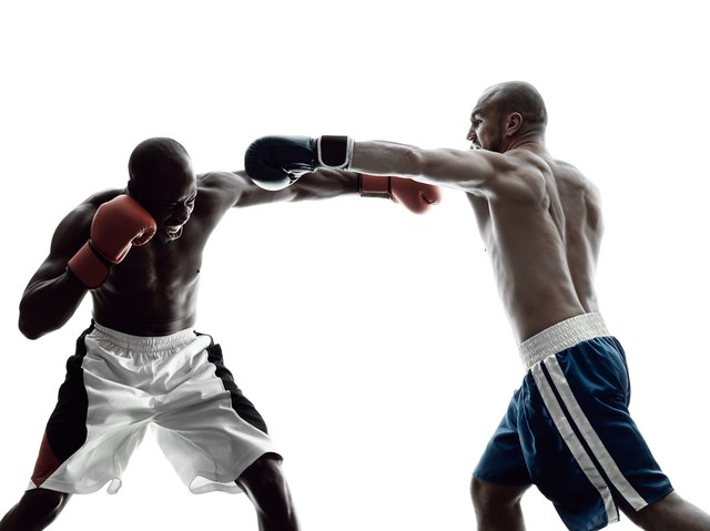 Punching power goes up your body through a kinetic chain.