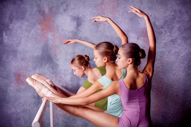 Ballet strengthens muscles and improves flexibility.