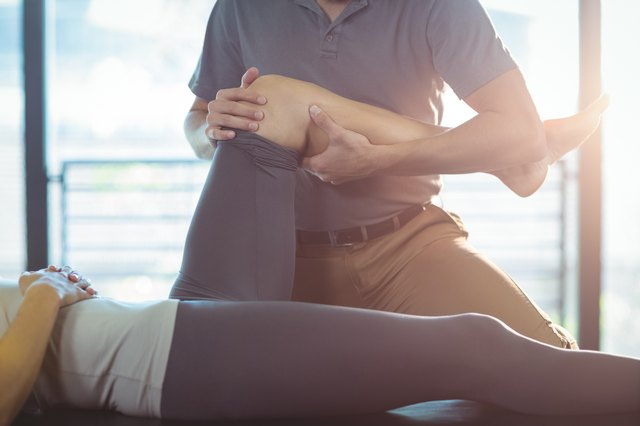 Massage can do wonders for sore leg muscles.