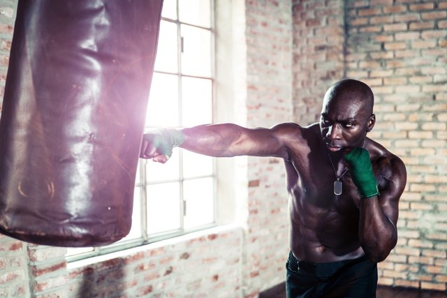 To train for boxing, use the most realistic drills that you can.